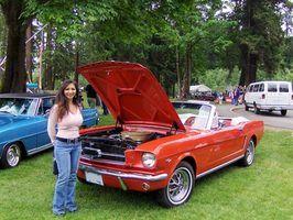 Mustang 1966 especificações tune-up
