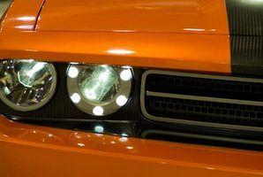 2010 Dodge challenger 1/4 ficha milha
