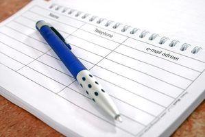 Uma lista de dispositivos que usam o reconhecimento de escrita