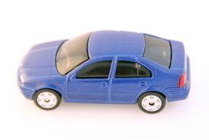 Uma lista de sedans de seis passageiros