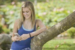 Abreviaturas para mensagens de texto para as crianças