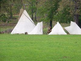 Vantagens de viver em uma tenda