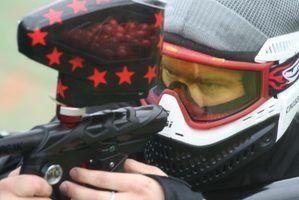 Requisitos de idade para uma arma de paintball