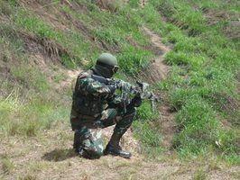 Leis e regulamentos em indiana arma de airsoft
