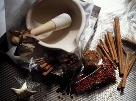 Alternativas para o almofariz e pilão