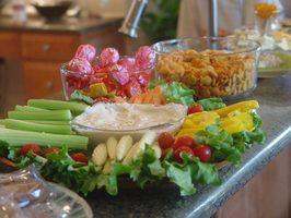 Ideias aperitivo para um 50º aniversário happy hour