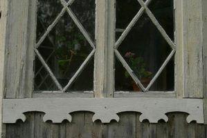 São janela podre soleiras um sinal de danos causados por cupins?