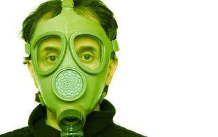 Remoção e máscaras de amianto