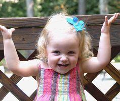 Atividades de babá para uma criança de dois anos de idade