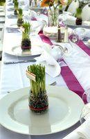 Banquete servindo dicas