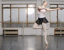 Como estão jazz e ballet similar?