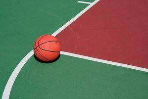 Regras de tiro falta de basquete