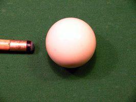 Regras de bilhar para afundar uma bola branca