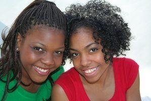 Penteados pretos para adolescentes