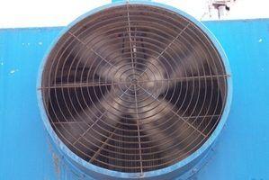 Especificações do motor do ventilador