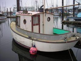 Ferramentas de limpeza do casco de barco