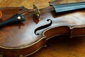 Marcas de violinos antigos