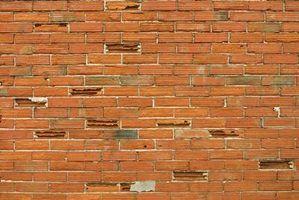 Ferramentas tuckpointing tijolo