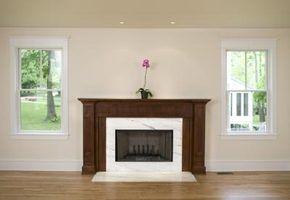 Os códigos de construção para uma lareira residencial