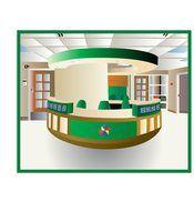 Ideias de construção para um balcão de recepção