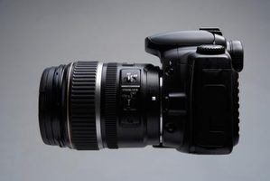 Definições da câmera de slr e iso termos