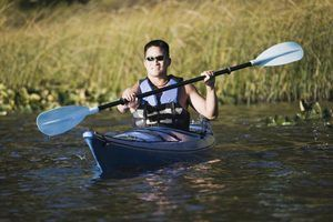 I pode passear de canoa ou caiaque a montante?