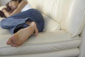 Pode dormir em um sofá arruiná-lo?