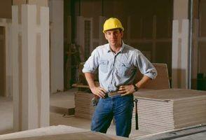 Drywall vs. Plywood para paredes