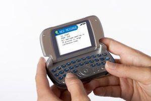 Você pode enviar mensagens de texto para enviar e-mail?