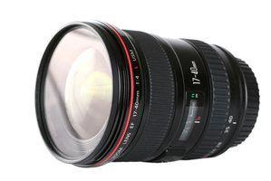 Canon tipos de lentes de câmera