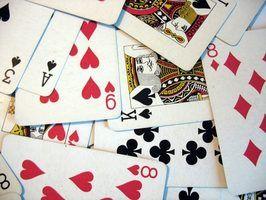 Regras de jogo de cartas para ponte do dub