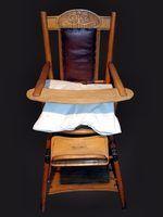 Cadeiras para ajudar com o bebê sentado