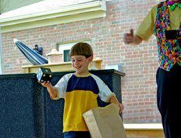 As atividades infantis para feiras