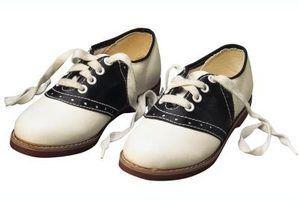 Calçados infantis na década de 1950