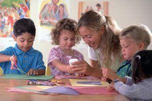 Artesanato de comunicação para pré-escolares