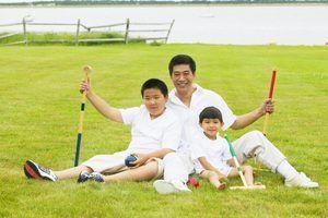 Esportes chineses para crianças