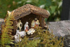 Idéias cristãs de decoração de natal