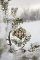 Bola de natal idéias de decoração