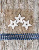 Idéias de decoração de natal usando serapilheira