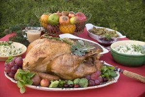 Idéias refeição do jantar de natal