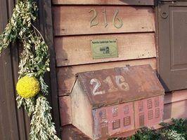 Caixa de correio de decoração de natal ideias