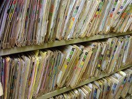Procedimentos de arquivamento de escritório e de escritório