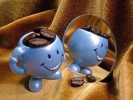 Ideias peça central do feijão de café