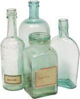Idéias criativas legais para fazer com garrafas velhas