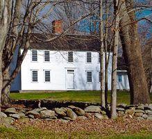 Casa cores de pintura colonial