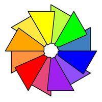Regras roda de correspondência de cores