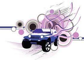 1989 Jeep veio em muitas cores diferentes.