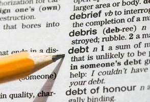 Regras fiscais para o cancelamento da dívida