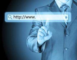 Sufixos de endereço da web comum