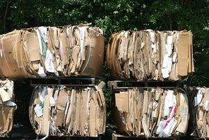 Contras de reciclagem